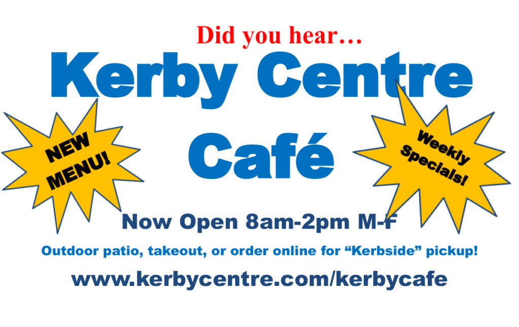 Kerby Centre Cafe Poster