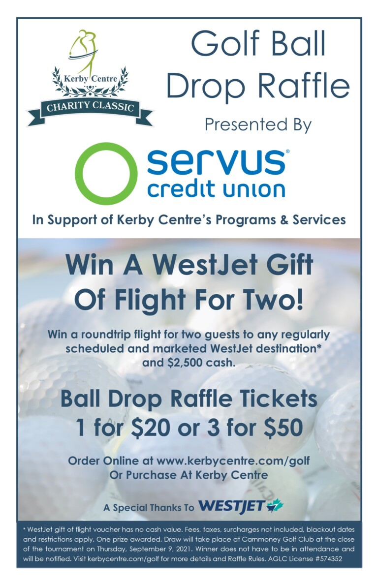Kerby Centre Charity Classic Ball Drop Poster