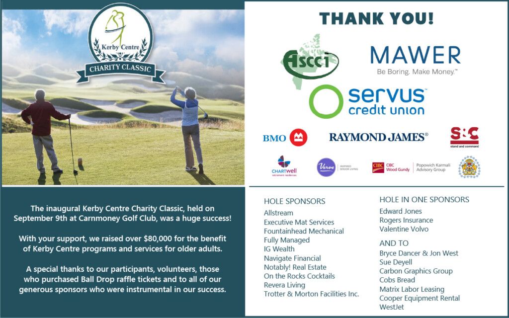 Charity Classic Thank You